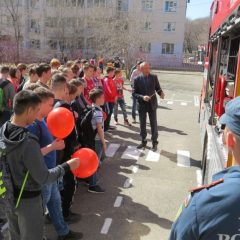 К юбилею пожарной охраны