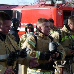Профессиональная подготовка пожарных