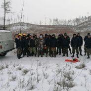 Выездные занятия с лесными пожарными на базе Свободненского авиаотделения